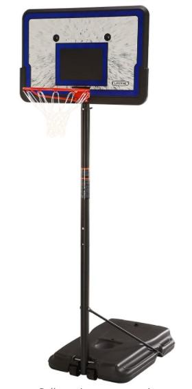 Lifetime Height Adjustable Portable Basketball System