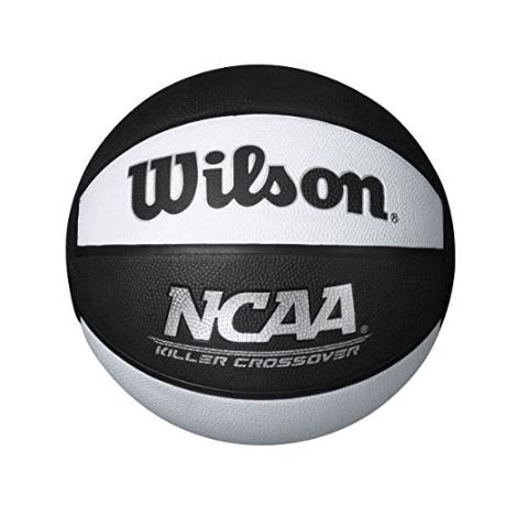 """Wilson Killer Crossover Basketball, Black/White, Official - 29.5"""""""