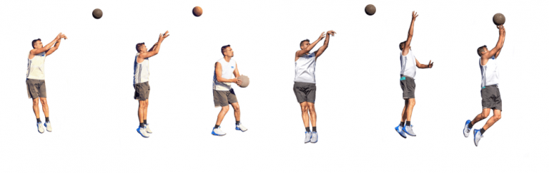 different shots in basketball