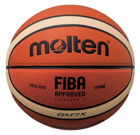 Molten X-Series IndoorOutdoor Basketball, FIBA Approved – BGMX