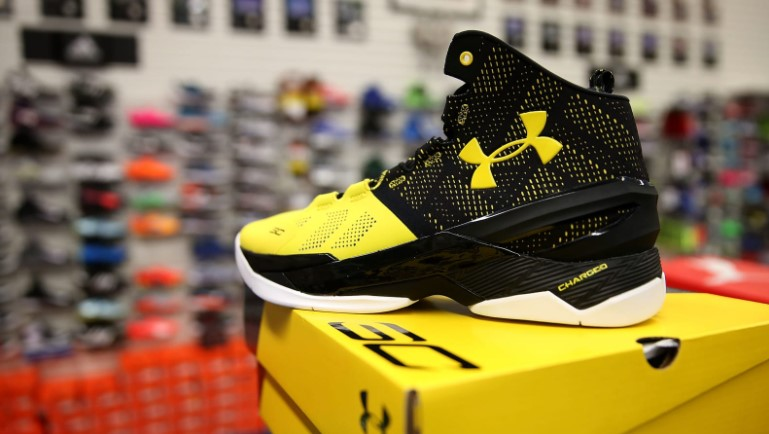 Under Armour Basketball shoe brand