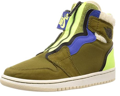 AIR JORDAN Women's Air 1 High Zip Up Sneaker