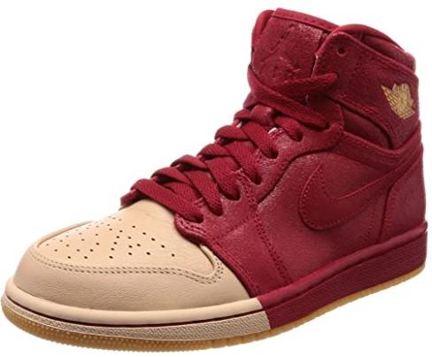 Jordan Nike Women's 1 Retro Hi Premium Basketball Shoe