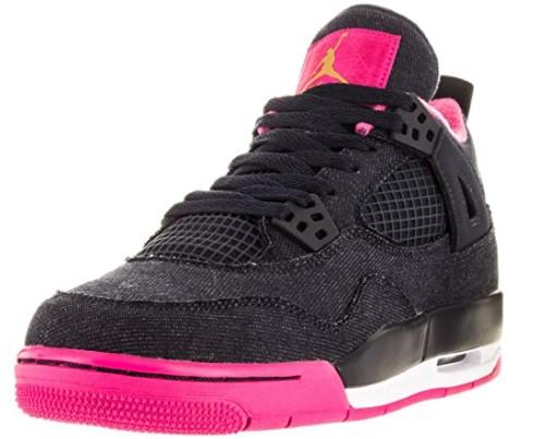 Jordan Retro 4 Basketball Gradeschool Kid's Shoes