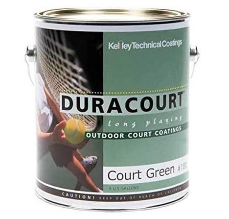 Kelley Duracourt court paint