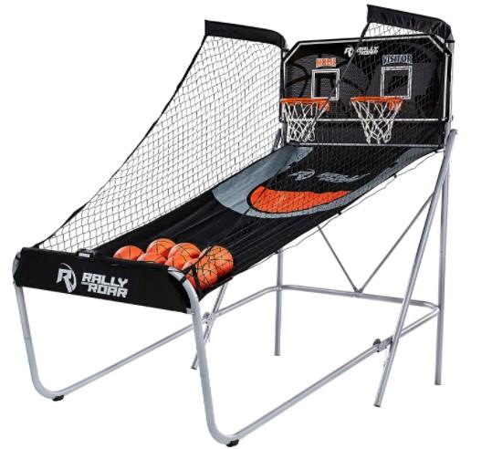 Rally and roar folding basketball game