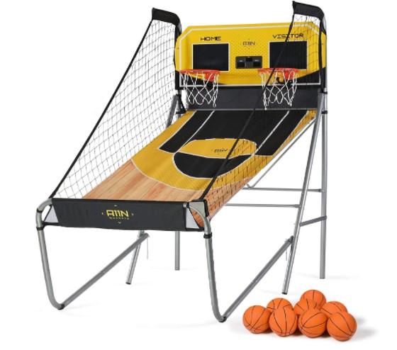 Sharpshooter basketball arcade game