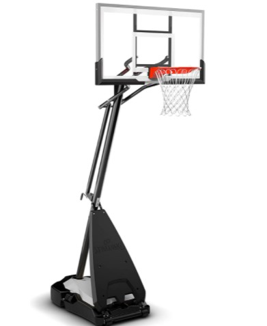 Spalding Ultimate Hybrid Portable Basketball Hoop
