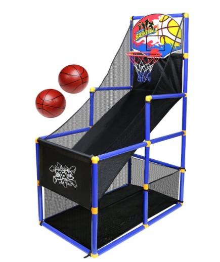 Kiddie indoor basketball game